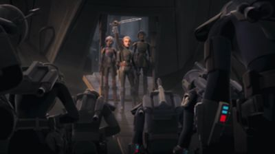 Star Wars Rebel -- Review -- Season 4 Episode 1 and 2: The Return of the Regent