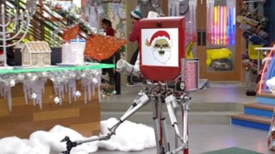 A Killer Robot Christmas