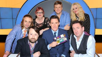 Jo Brand, Roisin Conaty, Paul Foot, Ray Mears