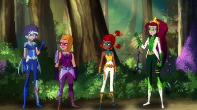 Three Mysticons and a Baby