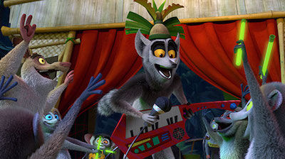 King Julien Superstar!