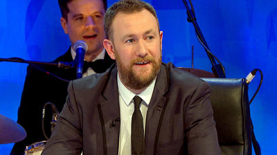 Richard Ayoade, Jessica Knappett, Alex Horne and The Horne Section