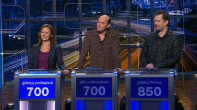 Mary Lynn Rajskub, David Koechner, Jim Jefferies