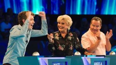 Jeff Stelling, Angela Rippon, Matt Edmondson