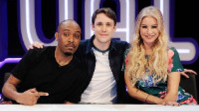 Denise van Outen, Dane Baptiste, Bobby Mair, Louis Smith