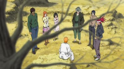 Hiding in the Dangai? Another Ichigo?!