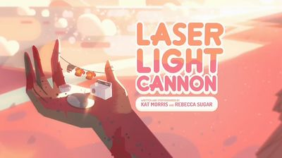 Laser Light Cannon