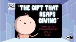 The Gift That Reaps Giving