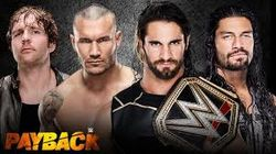 Payback 2015 - Baltimore, Maryland