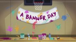 A Banner Day
