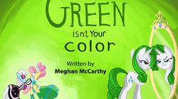 Green Isn't Your Color