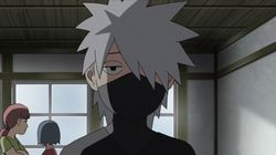 Jiraiya and Kakashi