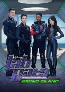 cover for Lab Rats: Bionic Island