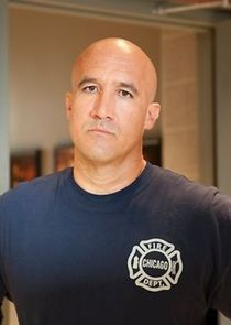 Firefighter Jose Vargas