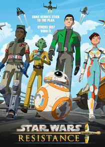Star Wars Resistance cover