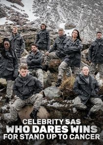 Celebrity SAS: Who Dares Wins for Stand Up to Cancer