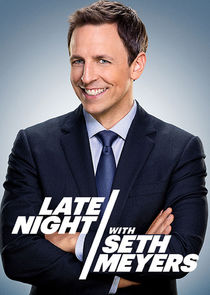 Late Night with Seth Meyers cover