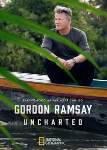 Gordon Ramsay: Uncharted cover