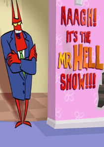 cover for Aaagh! It's the Mr. Hell Show!