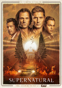 Poster of Supernatural S14E09 MULTi 1080p WEB H264-NERO
