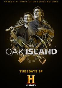 The Curse of Oak Island cover