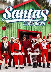 Santas in the Barn