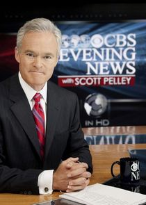 CBS Evening News with Scott Pelley cover