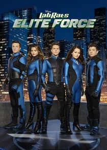 cover for Lab Rats: Elite Force