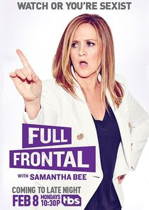 Full Frontal with Samantha Bee cover