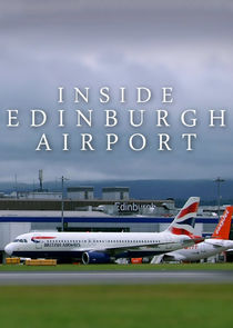 Inside Edinburgh Airport