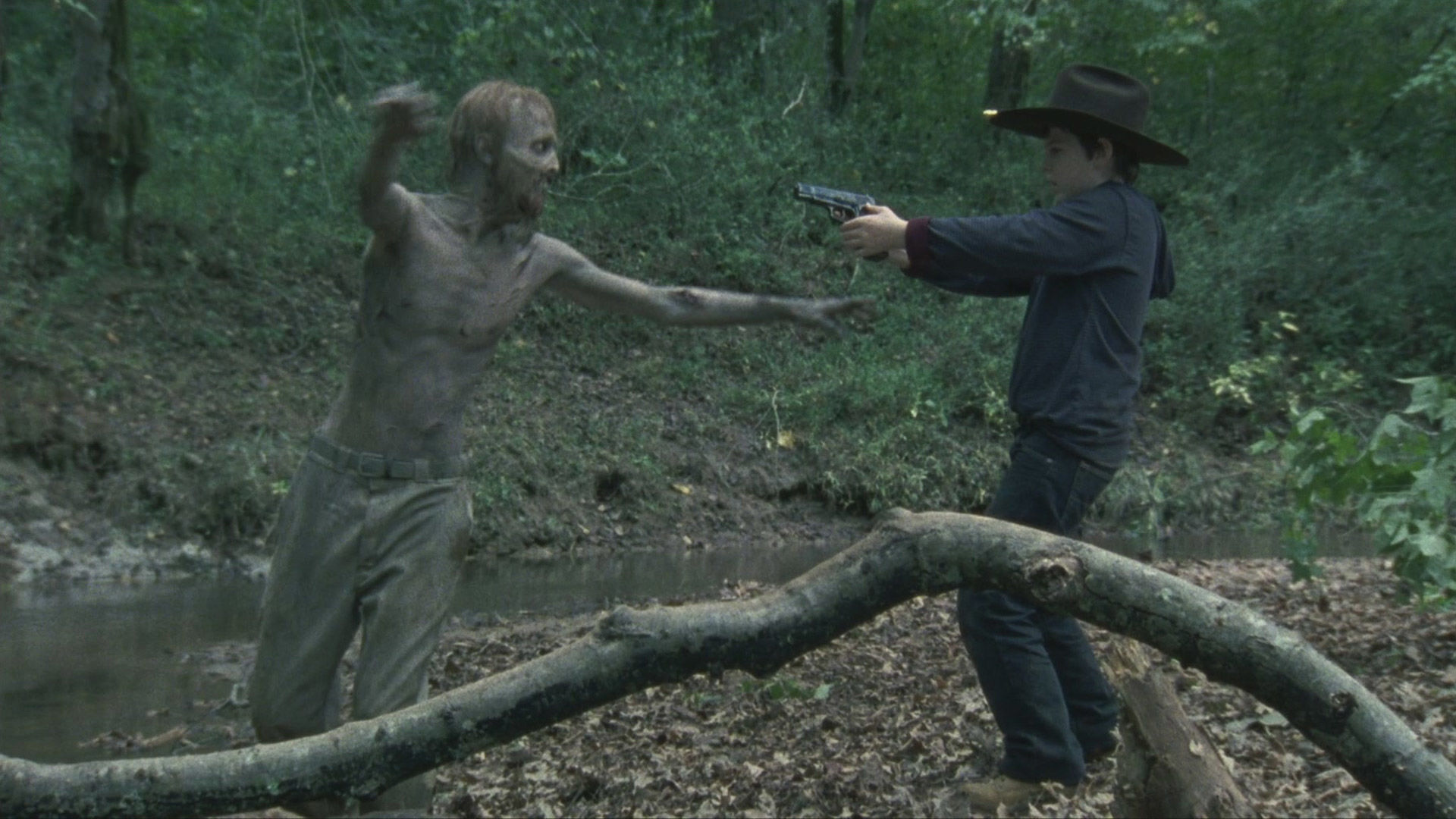 Rick sides with Shane causing Dale to worry that the group is losing its humanity; Carl's actions have unintended consequences.