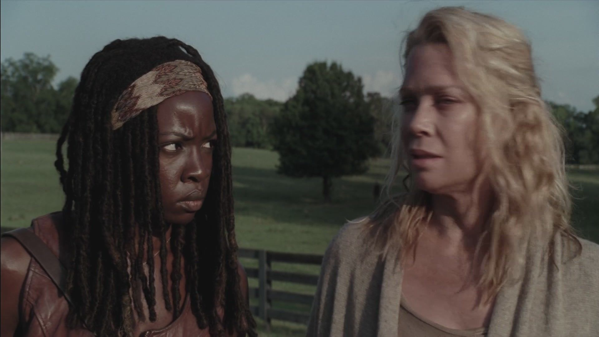 After witnessing an accident, Andrea and Michonne are introduced to a new community of survivors. As conflicts arise with their new acquaintances, a decision must be made.