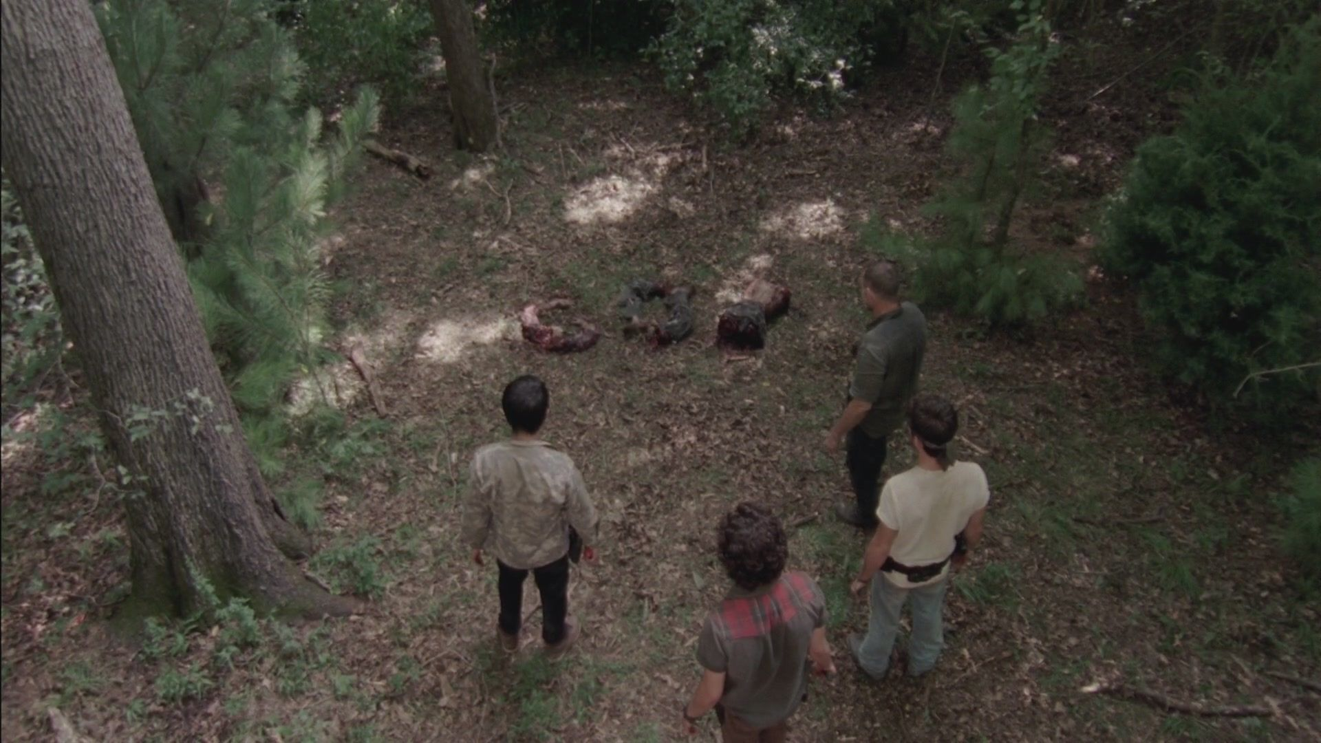 Michonne makes a decision about Woodbury; Glenn and Maggie go on a run; Rick struggles.