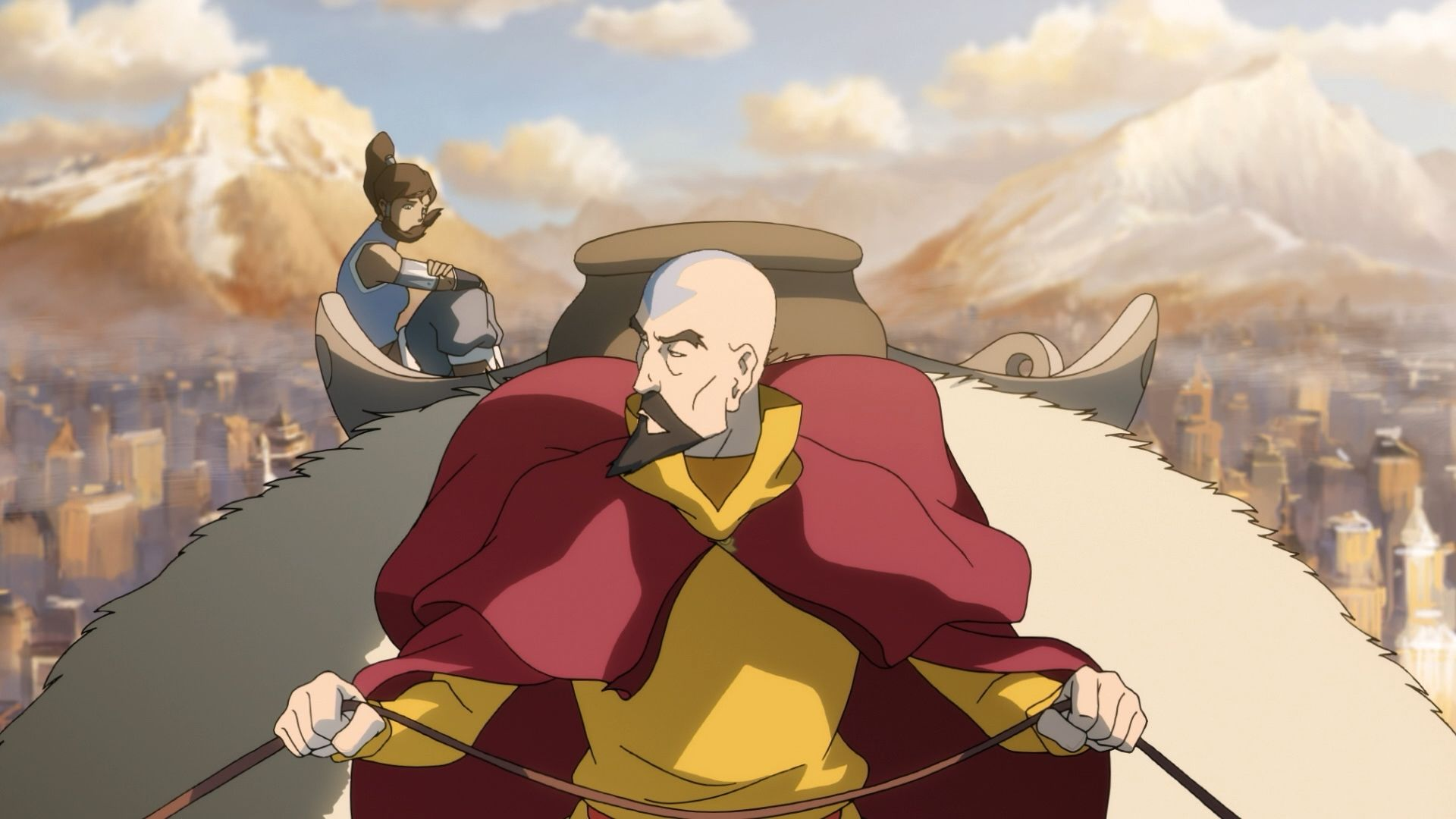 the legend of korra when extremes meet
