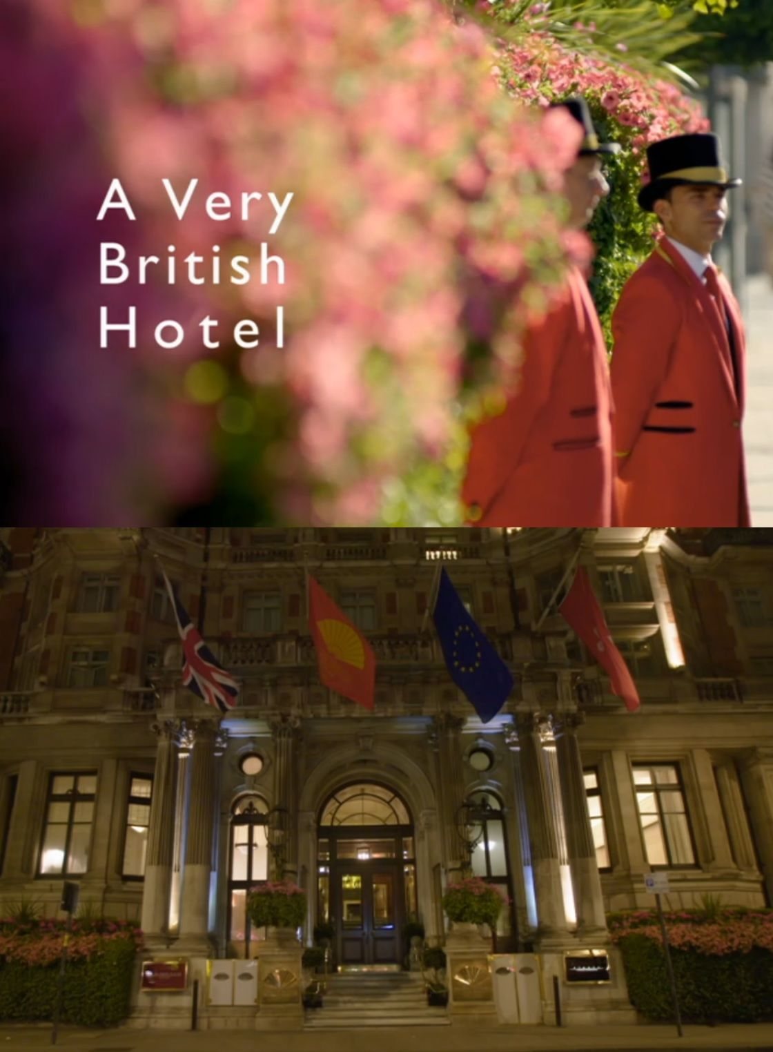 A Very British Hotel cover