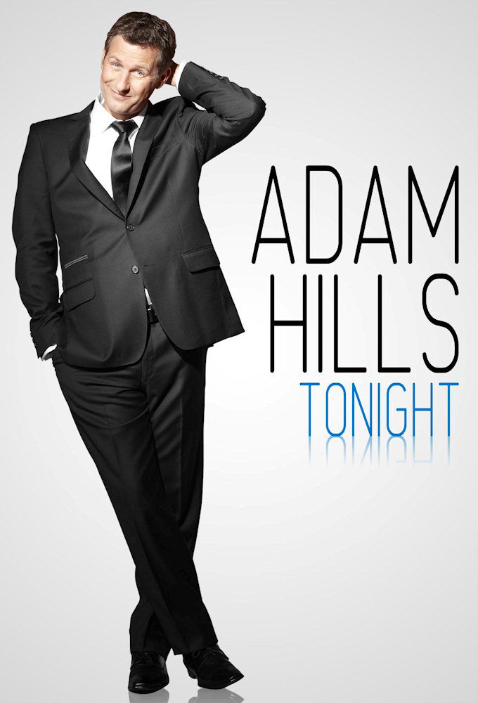 Adam Hills Tonight cover