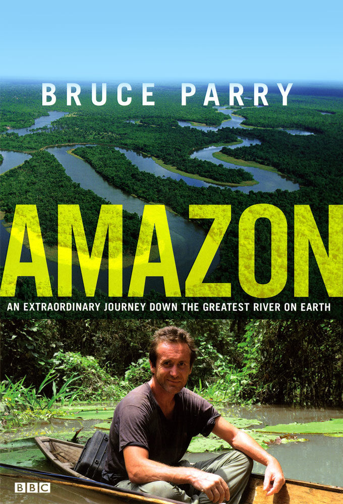 Amazon with Bruce Parry cover