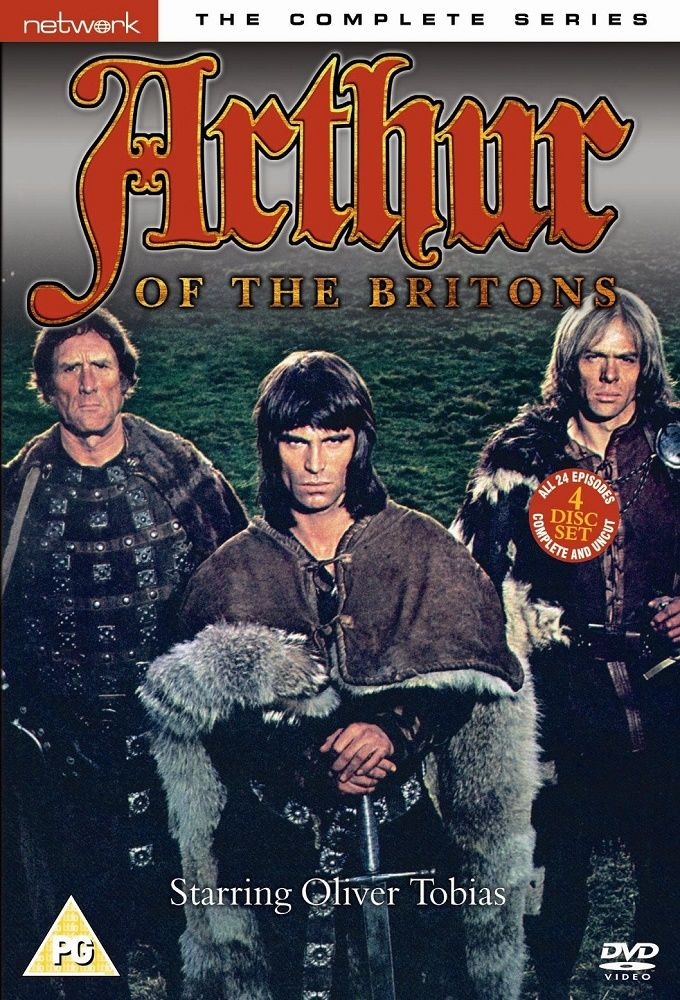 Arthur of the Britons cover