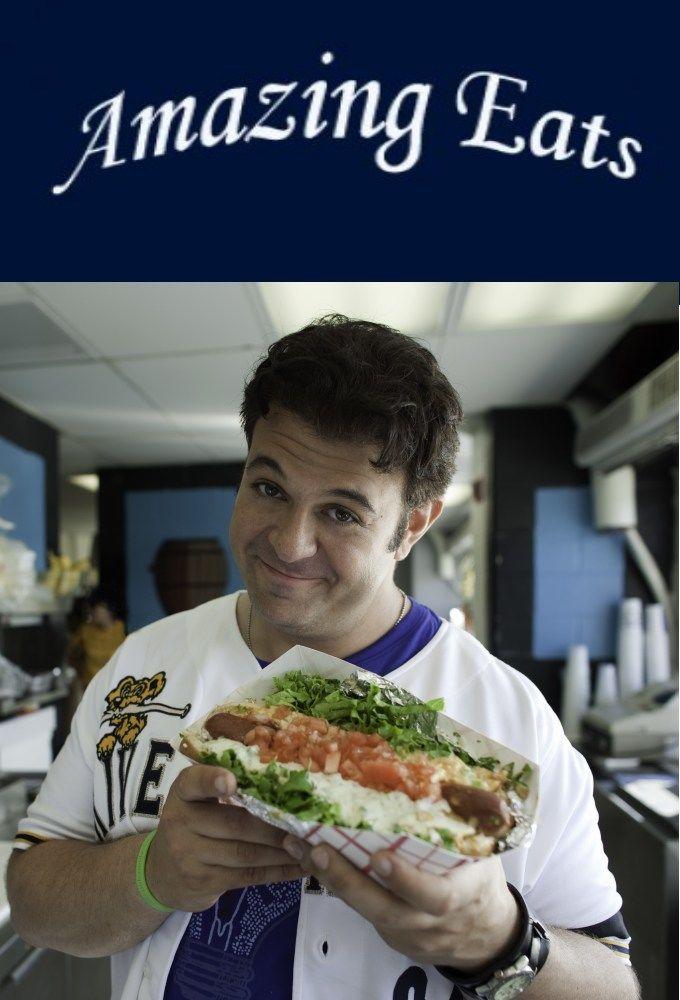 Amazing Eats cover