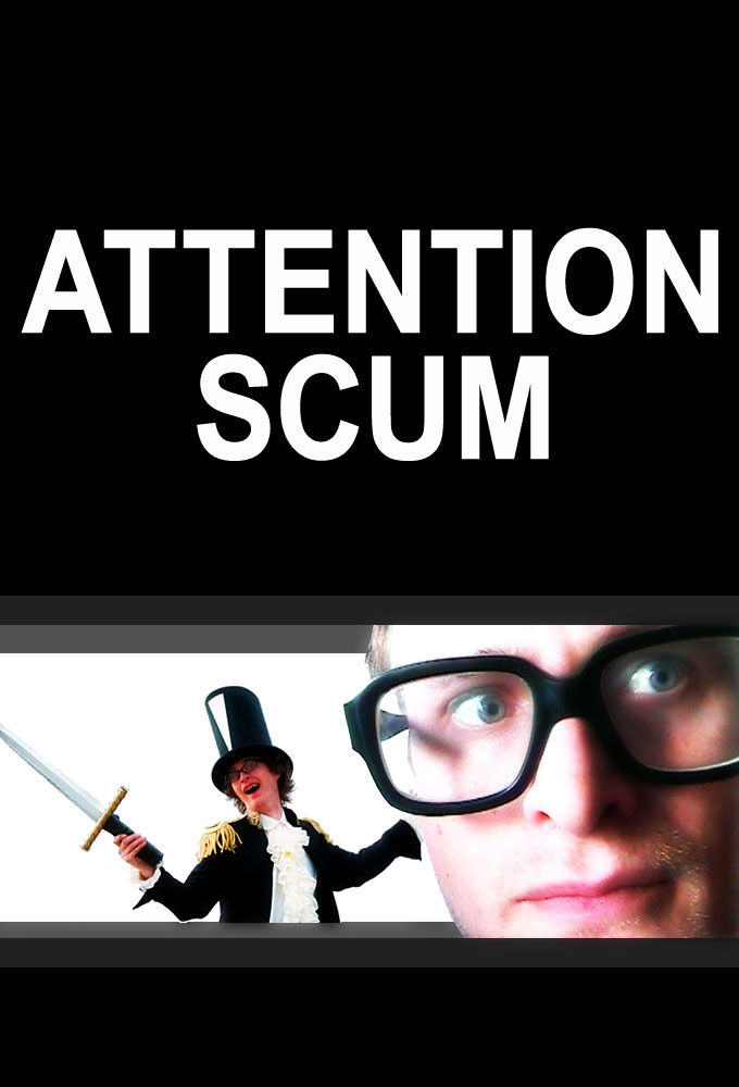 Attention Scum cover