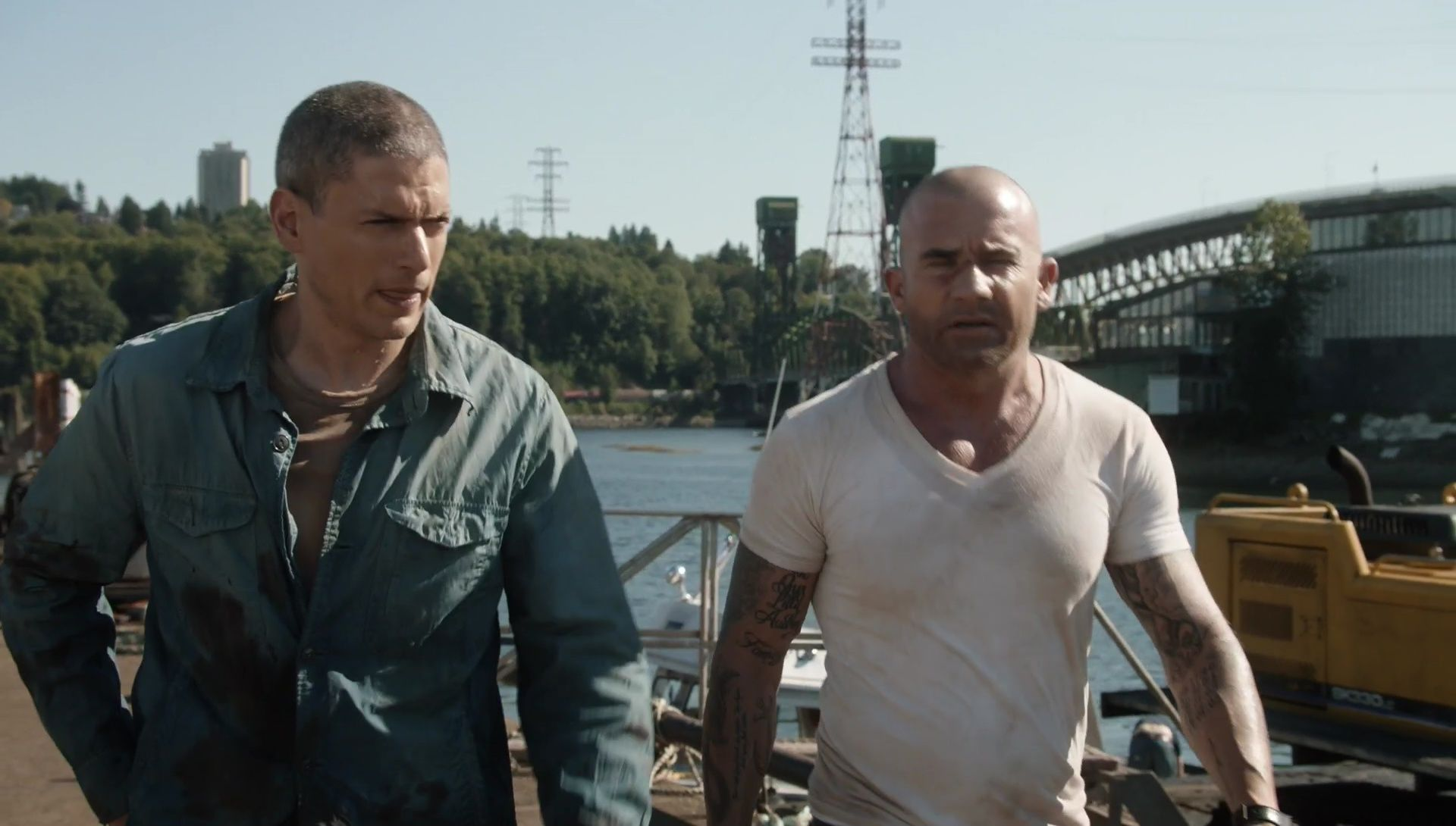 prison break essay The prison is straightforward and matter of fact malamud tells it directly without moralizing or editorializing save for its final page, the story is told in the third-person singular.