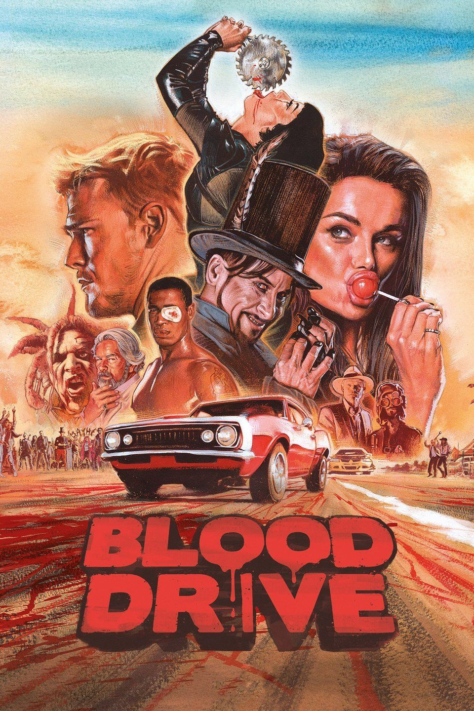 Blood Drive cover