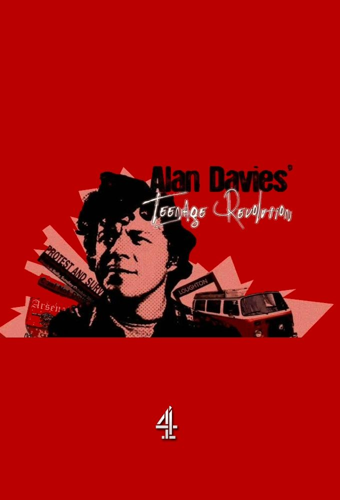 Alan Davies' Teenage Revolution cover
