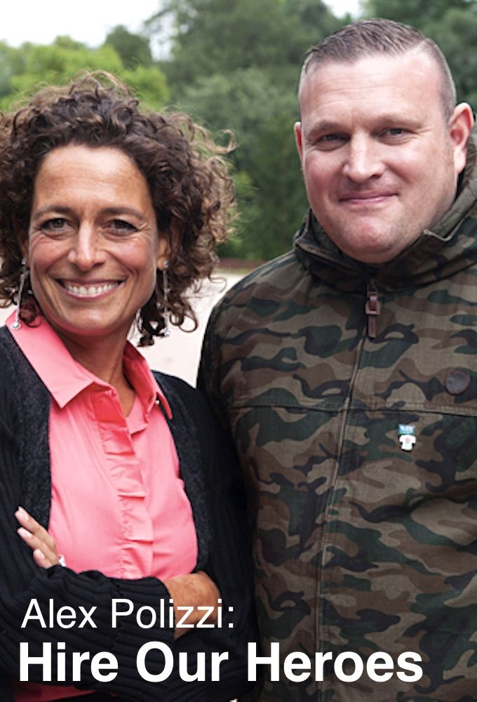 Alex Polizzi: Hire Our Heroes cover