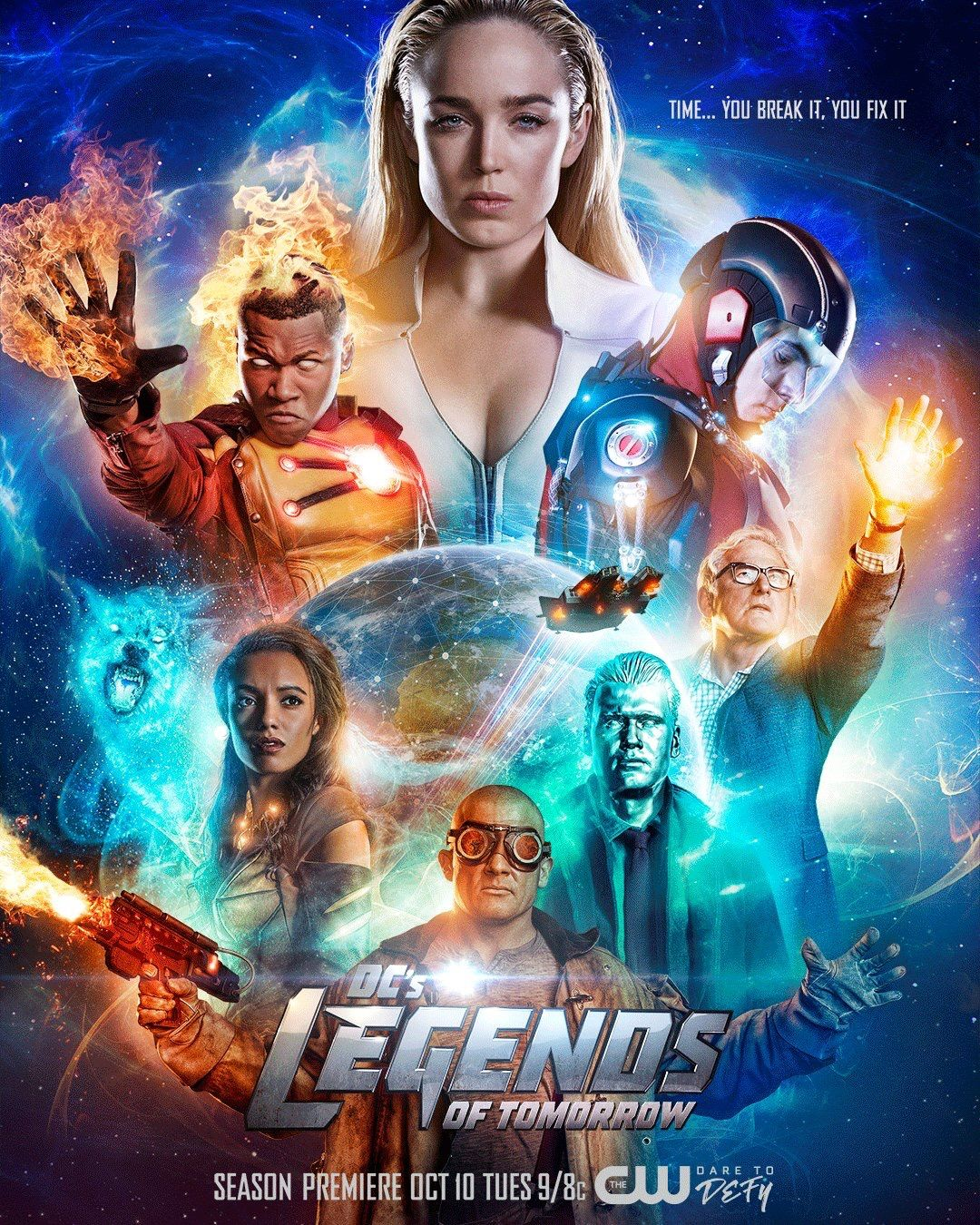 DC's Legends of Tomorrow cover