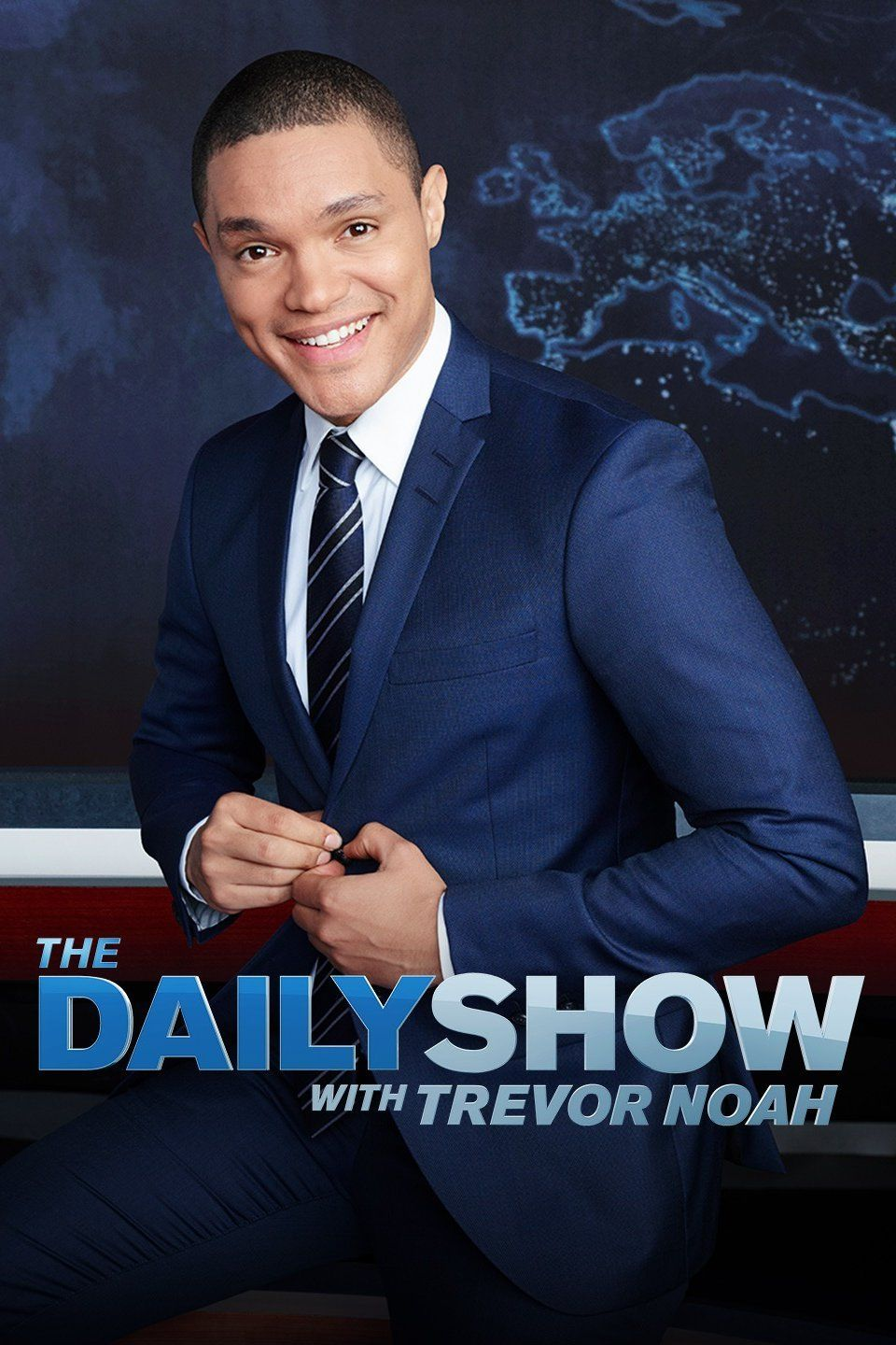 The Daily Show with Trevor Noah cover