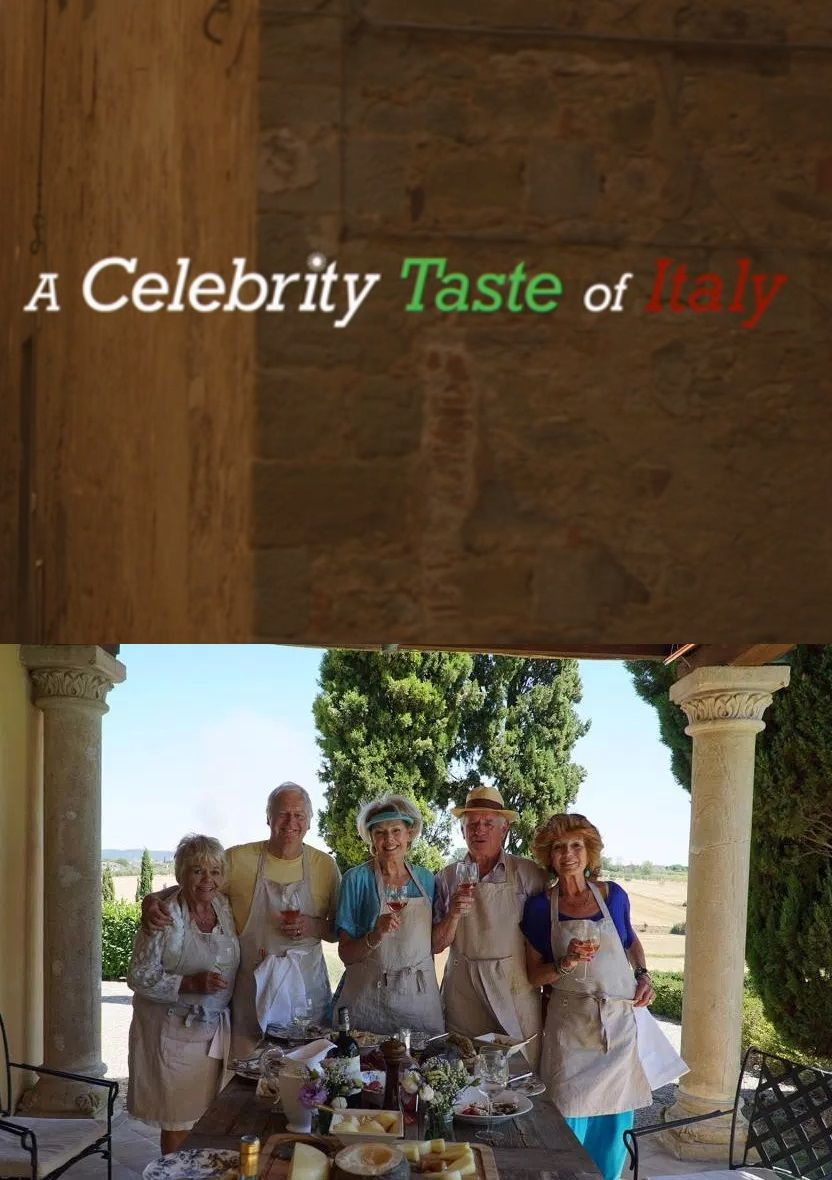 A Celebrity Taste of Italy cover