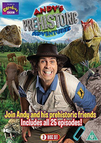 Andy's Prehistoric Adventures cover