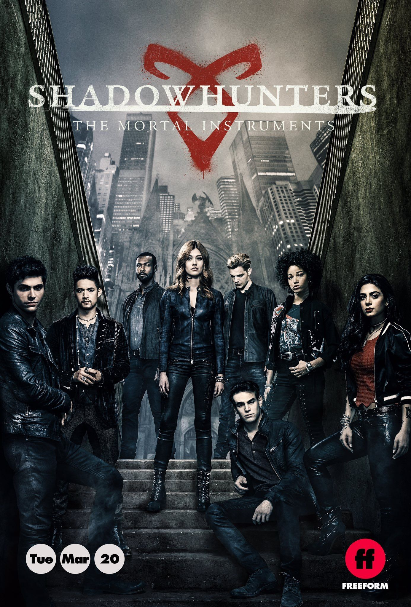 Shadowhunters: The Mortal Instruments cover