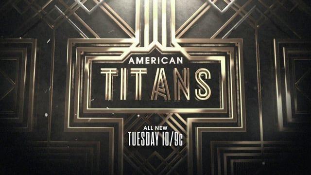 American Titans cover